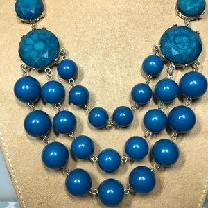 Blue Francesca Necklace
